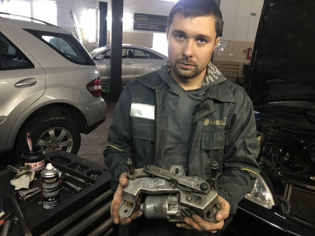 ремонт машин мерседес-2