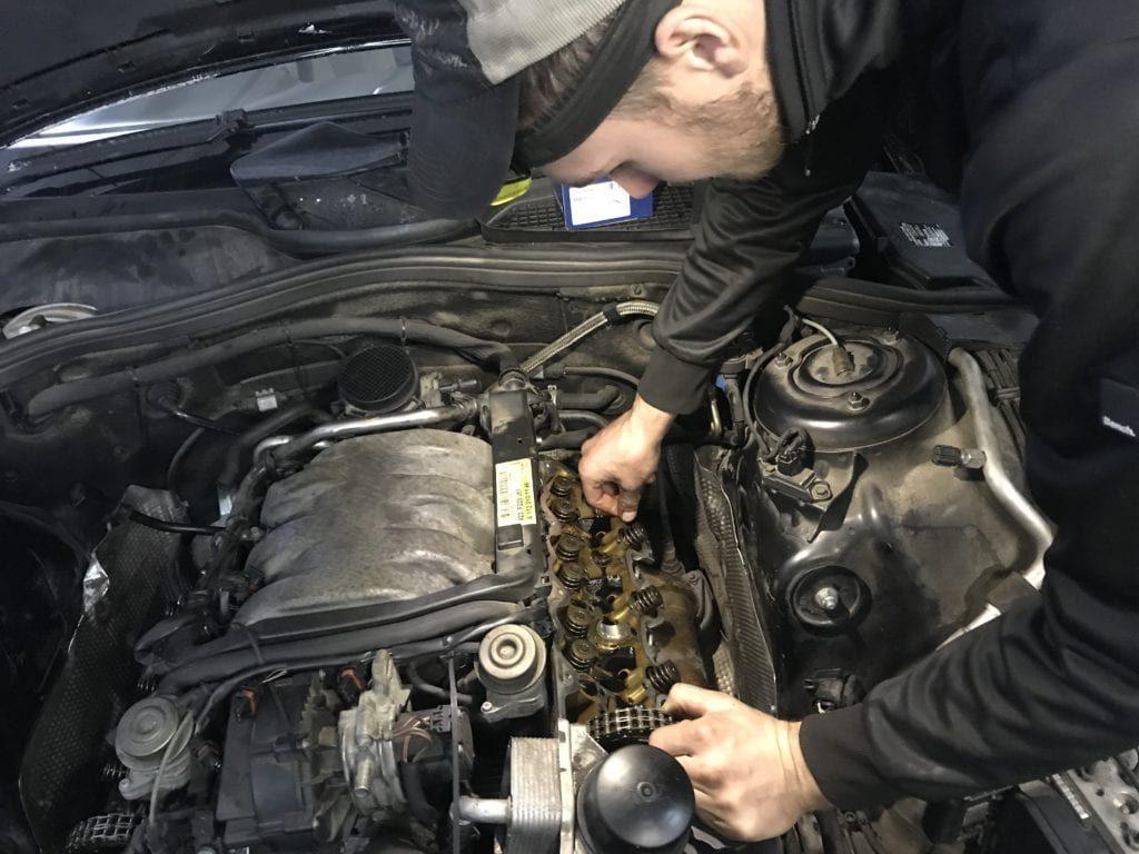 ремонт машин мерседес-3