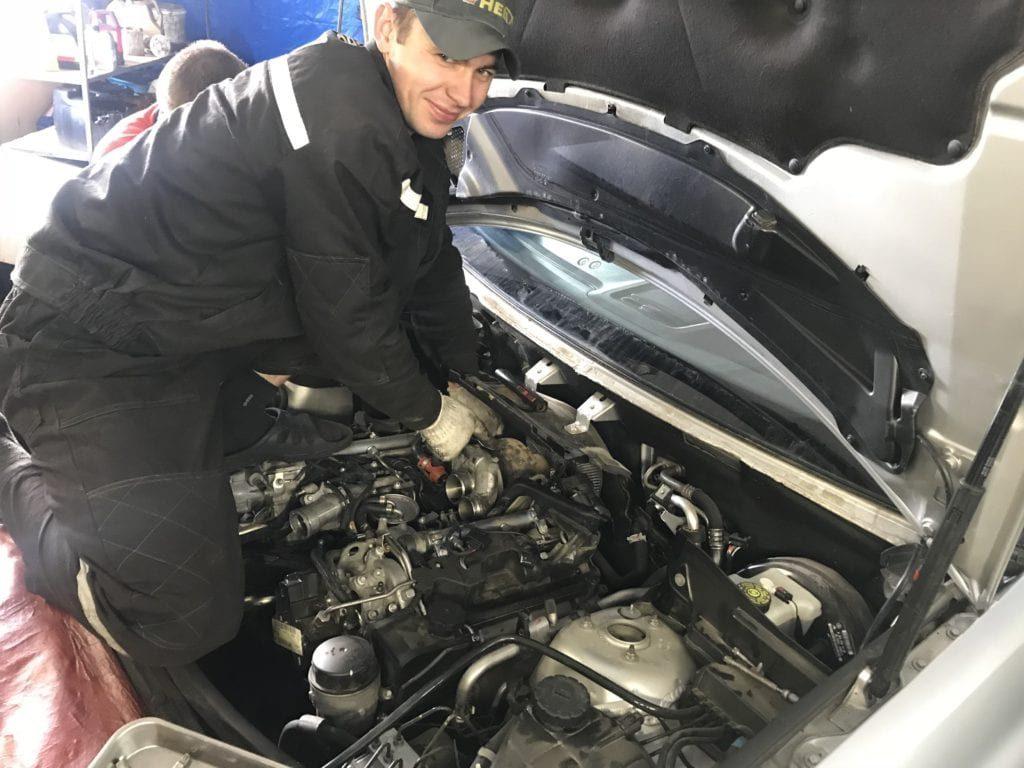 ремонт машин мерседес-4