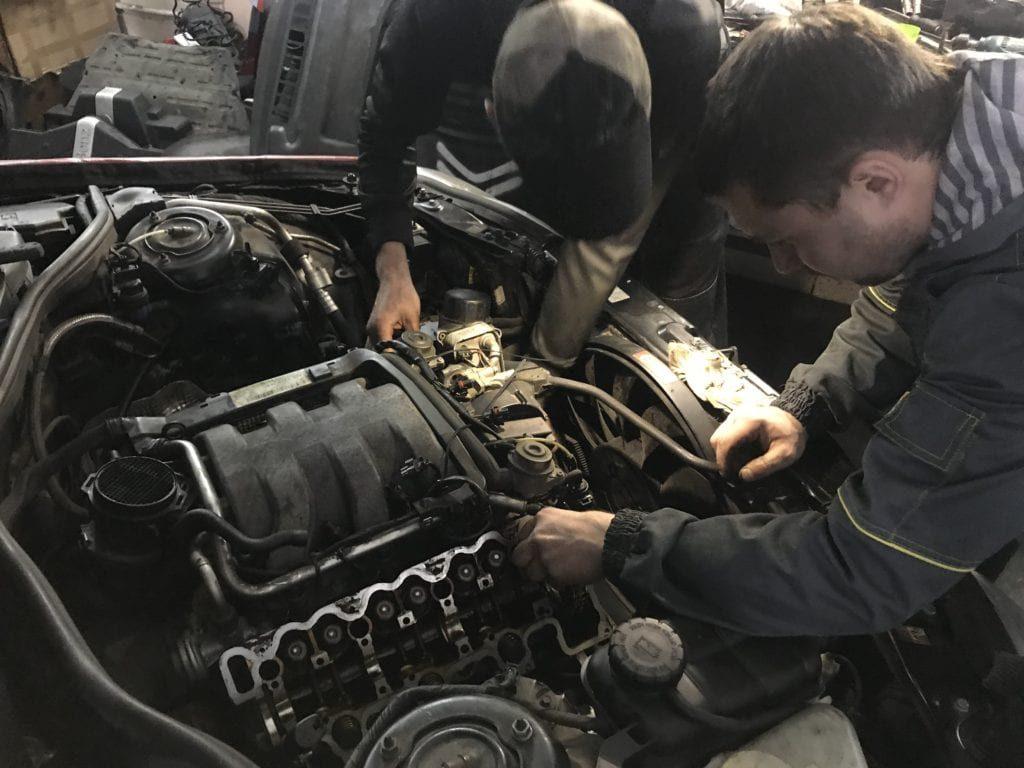 ремонт машин мерседес-6